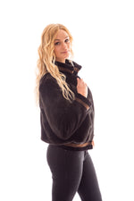 Ranch with Demi Buff Insert Mink Jacket