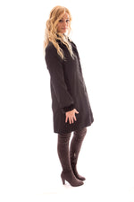 fur mink sheared coat jacket