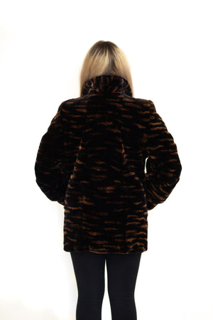 Load image into Gallery viewer, fur jacket