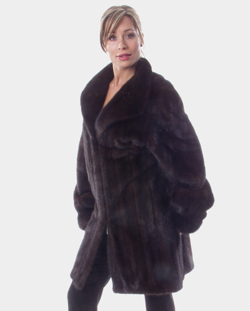 Ranch Mink Fur Coat Available Cleveland ETON Chagrin & Akron Summit Mall