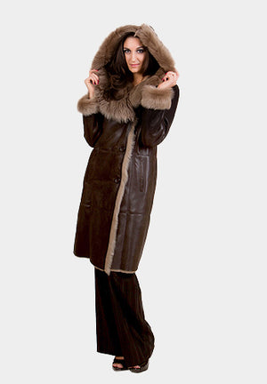 Shearling Coat Merino Toscana Collar Available Cleveland ETON Chagrin & Akron Summit Mall