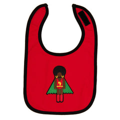 unique baby gifts, afro supa baby bibs!