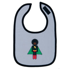 unique baby gifts, afro supa baby bibs