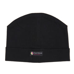 black clothing for babies, black organic cotton beanie hat