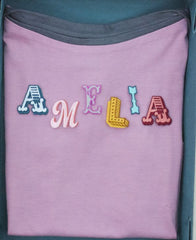 Personalised kids T-shirt in keepsake gift box