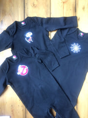 black clothing for babies - limited edition halloween onesies and sleep suits
