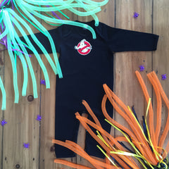 Boo the Ghost Organic Cotton Halloween baby grow