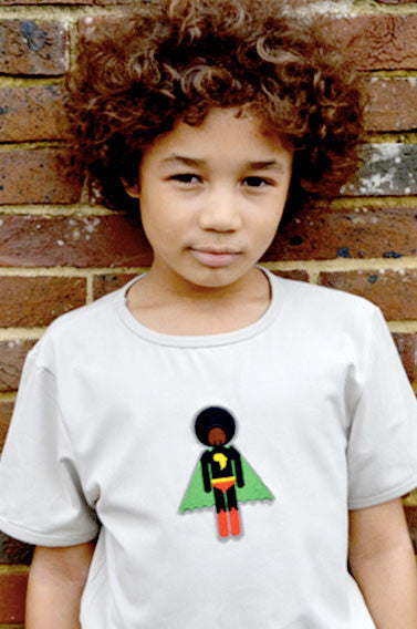 Organic cotton and bamboo boy's T-shirt