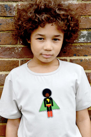 BOYS T-SHIRT - Afro Supa®  - short sleeve