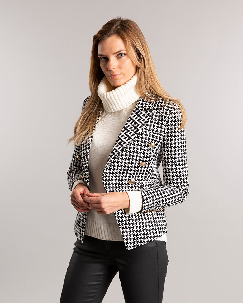Oxford Double Breasted Blazer