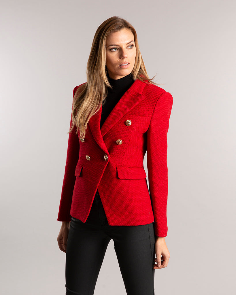 Knightsbridge Blazer Red
