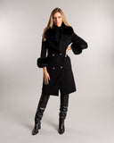 Sloane Wool Coat Black Noir