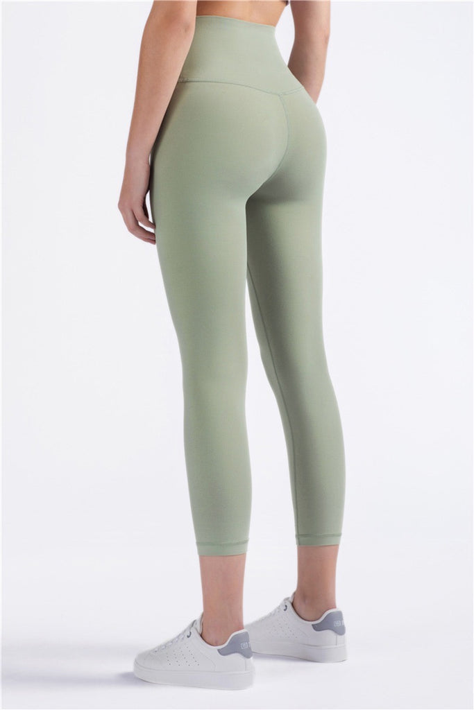 Seamless Push Up Legging 3/4