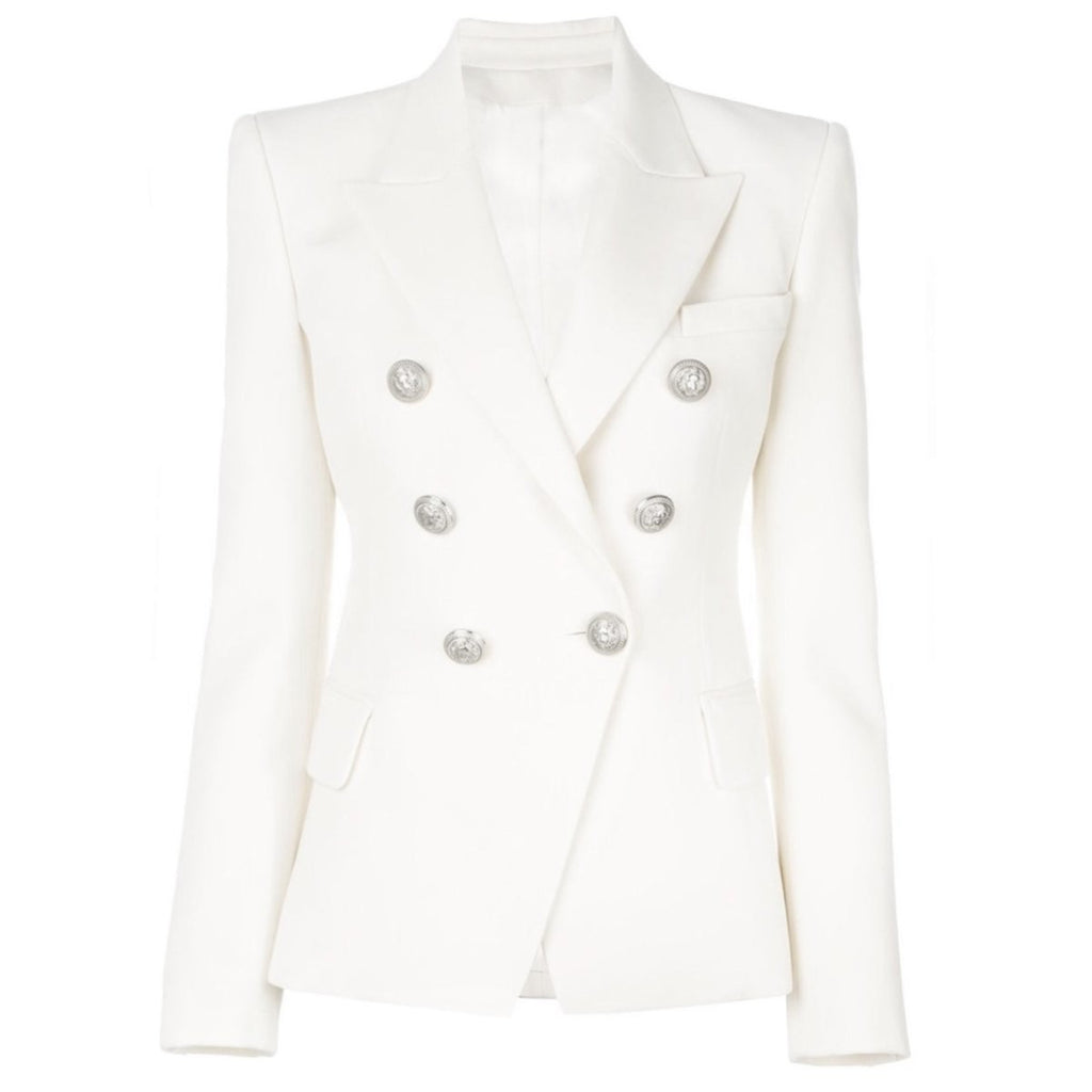 Windsor Blazer Oyster White