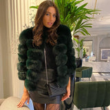 Emerald Fur Coat