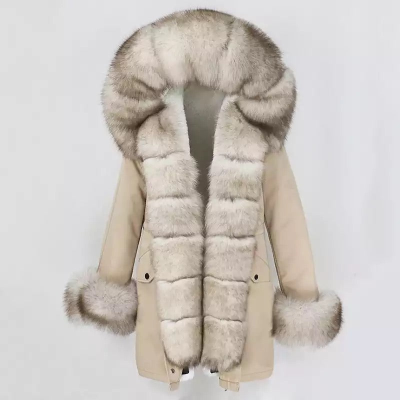 Extra Long Lux Parka Jacket
