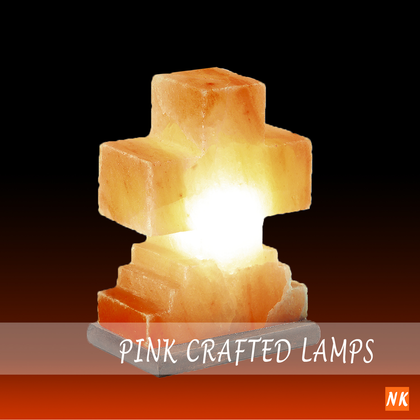 Pink Crafted Lamps