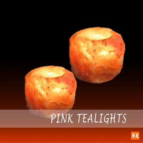 Pink Tealight Holders
