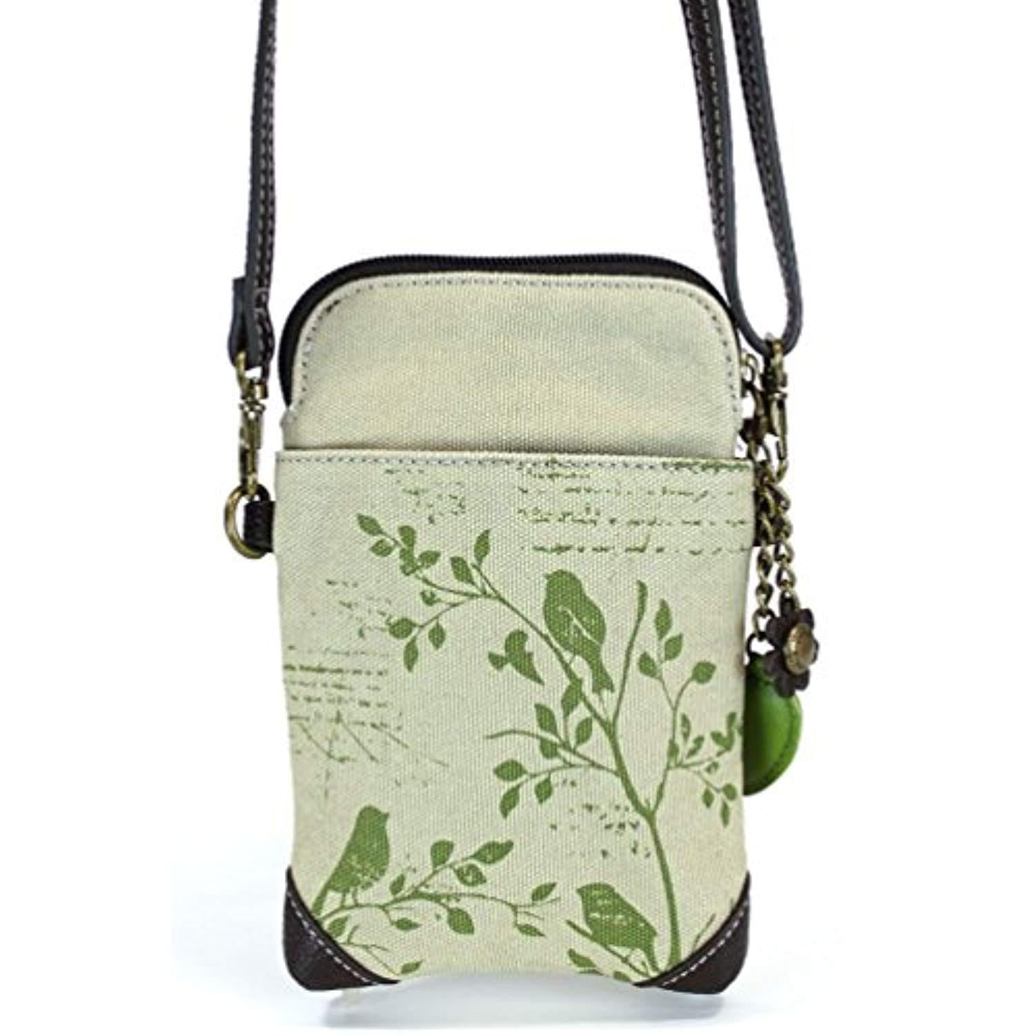 Cross-Body Phone Bag - Bird Safari