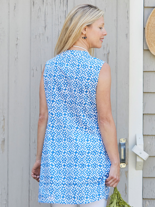 April Cornell Mosaic Tunic