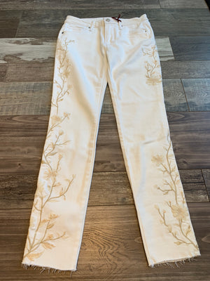 Driftwood Denim White Jean