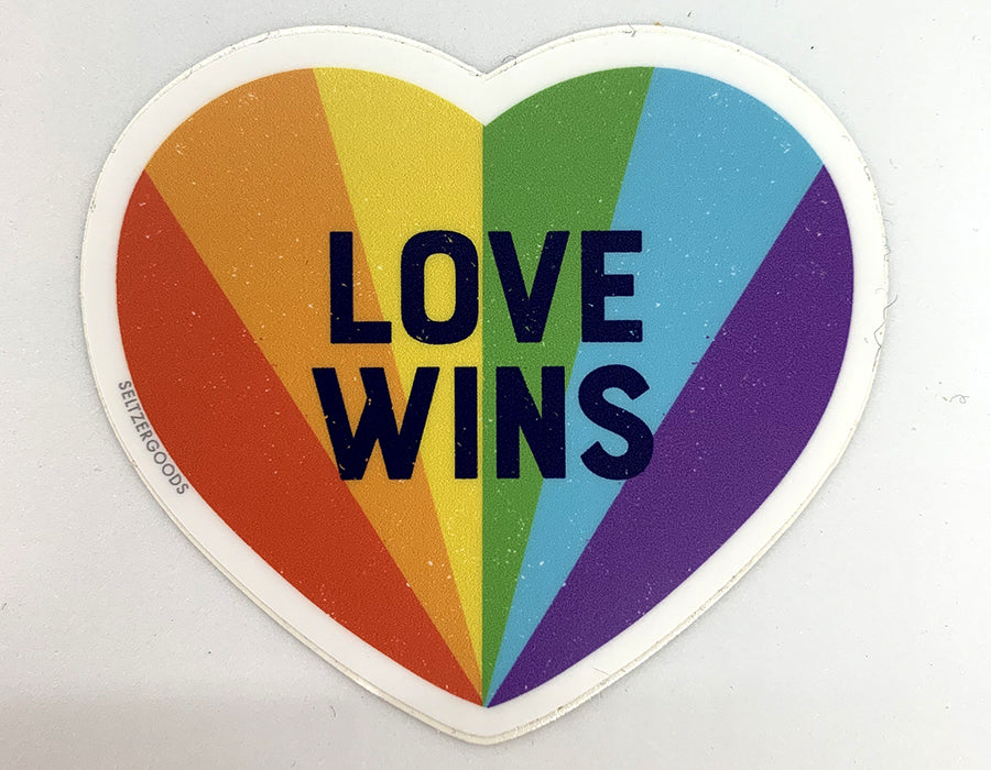 Sticker - Love Wins
