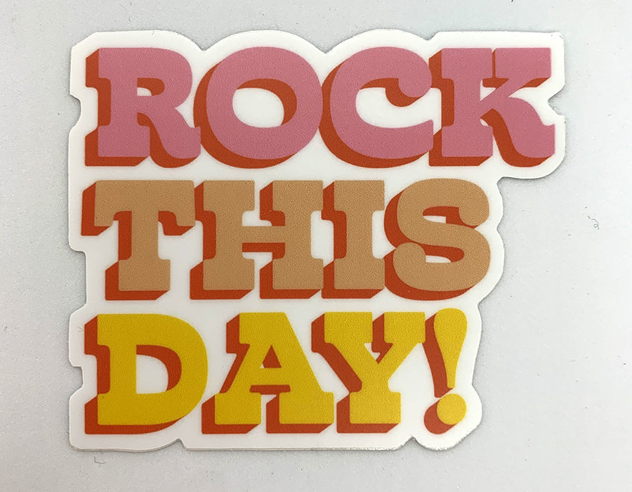 Sticker - Rock This Day