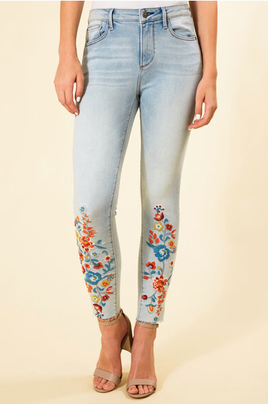 Driftwood Denim High-Waist Jackie