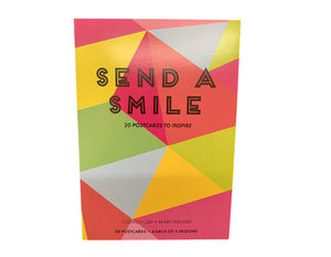 Send A SMILE - 20 Postcards To Inspire