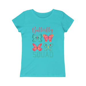 Butterflies - Girls Princess Tee