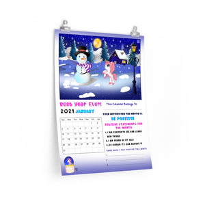 Best Year Ever Calendar - One Time Annual Purchase