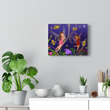 "Load image into Gallery viewer, ""Fairy Night"" Interactive Canvas Gallery Wraps"