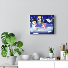 Load image into Gallery viewer, Snowy Season Canvas Print