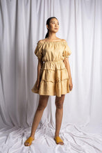 Load image into Gallery viewer, NYANYI DRESS IN NUDE | PURE LINEN