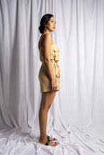 Load image into Gallery viewer, MEDEWI PLAYSUIT IN NUDE | PURE LINEN