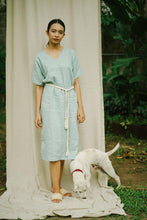 Load image into Gallery viewer, OSAKA DRESS | PURE LINEN