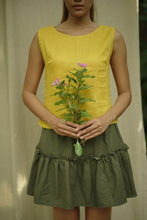 Load image into Gallery viewer, SIMPLE TANKTOP IN YELLOW | PURE LINEN