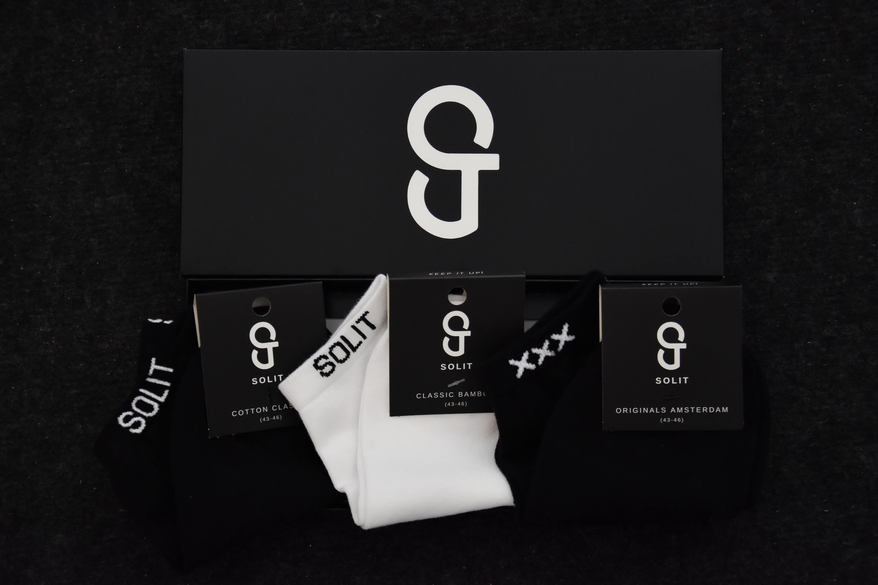 SOLIT socks variation pack verpakking