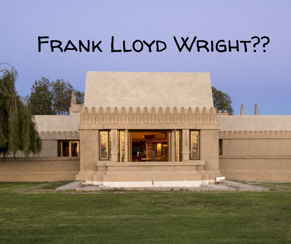 What Inspires Us- Frank Lloyd Wright