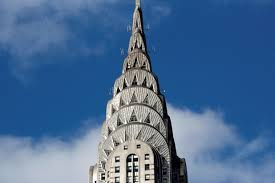 Top of the Chrysler Building in NYC