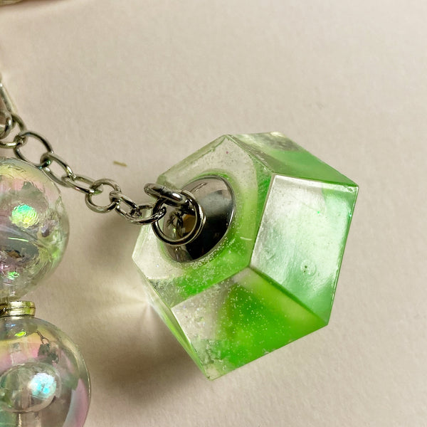 Closeup keyring charm element