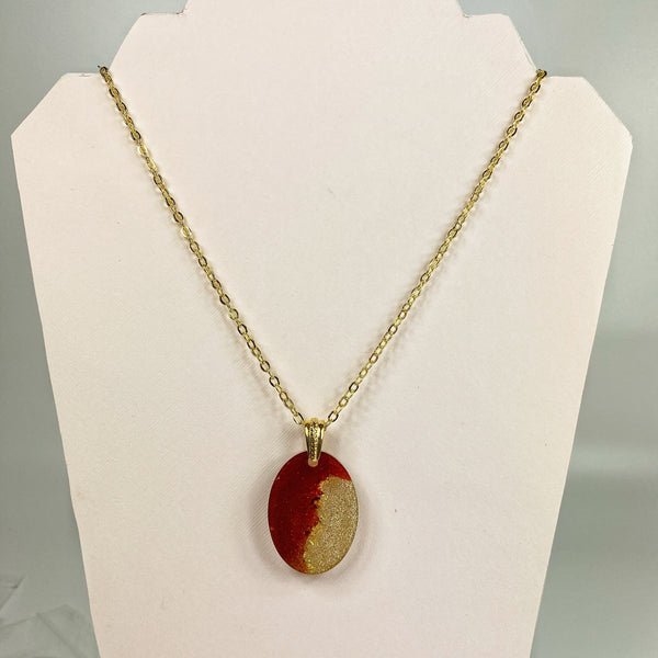 Golden Eclipse Necklace