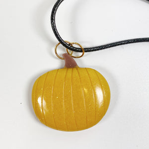 Great Pumpkin Necklace Front View