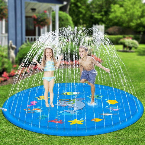 Outdoor Lawn Inflatable Water Jet - migikid