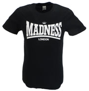 Mens Black Official Madness London T Shirt