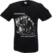 Mens Black Official Madness One Step Beyond T Shirt