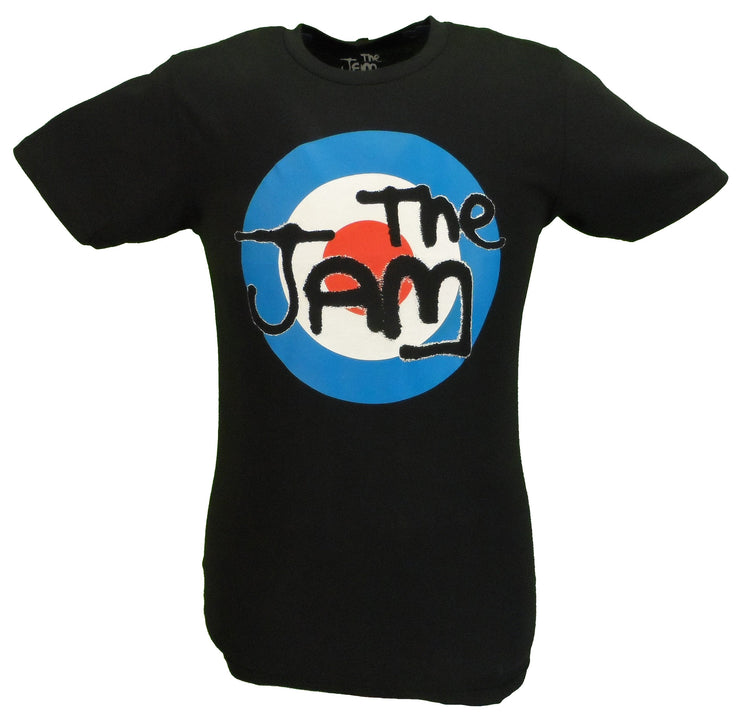 Mens Black Target Official The Jam T Shirt