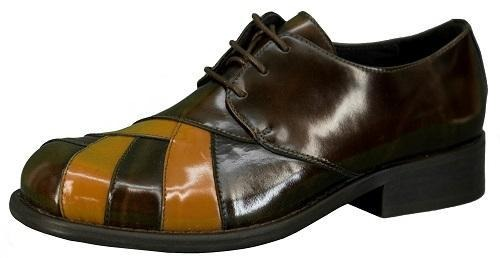 Ikon Original Zodiac Leather Shoe in Brown/Tan - Ikon Original