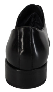 Ikon Original Zodiac Leather Shoe in Black - Ikon Original