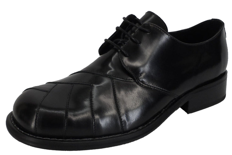 Ikon Original Zodiac Leather Shoe in Black